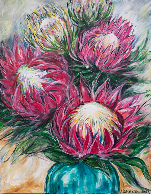 Protea by Michele Theobald